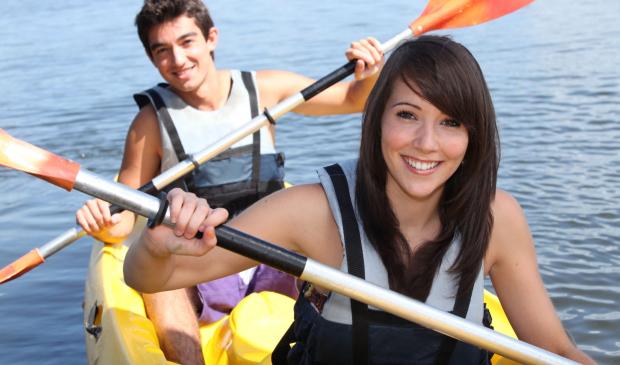 Kayak de mer à l'Ile de Groix.