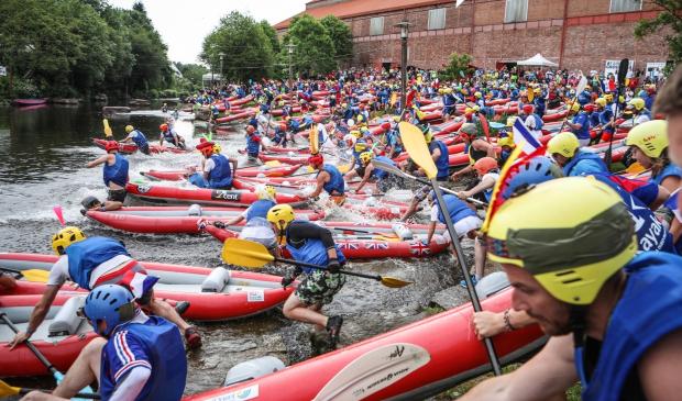 Tous à l'eau pour le départ des 24 heures kayak à Inzinzac-Lochrist