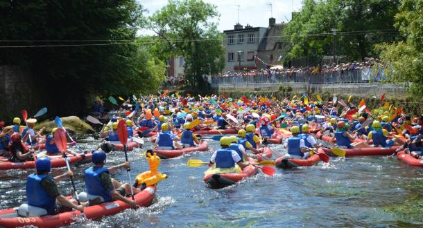 Inzinzac-Lochrist, 24h kayak au parc d'eau vive
