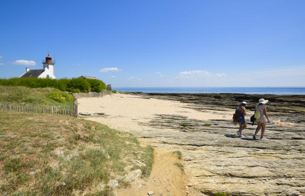 Promenade à pied à la Pointe des Chats - Ile de Groix.