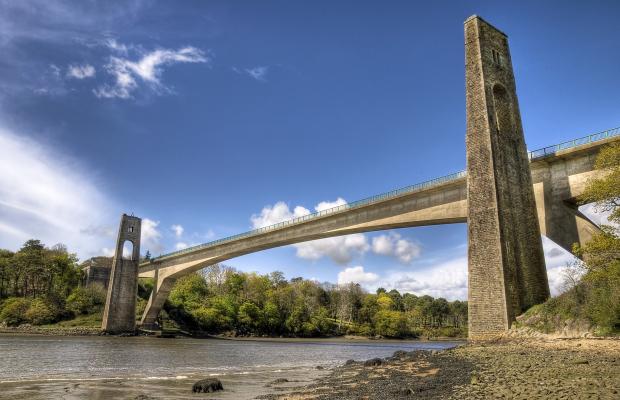 Le Pont du Bonhomme à Lanester sur les bords du Blavet.