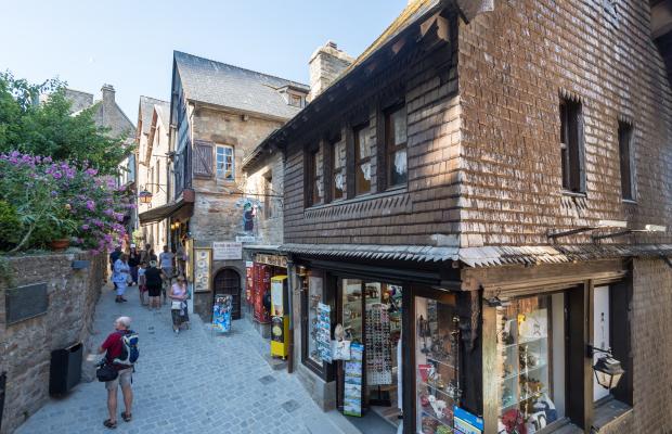 Une rue du Mont Saint Michel