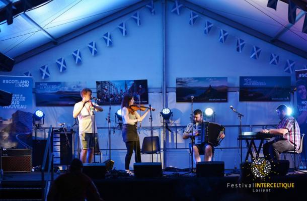 concert folk, Festival Interceltique Lorient