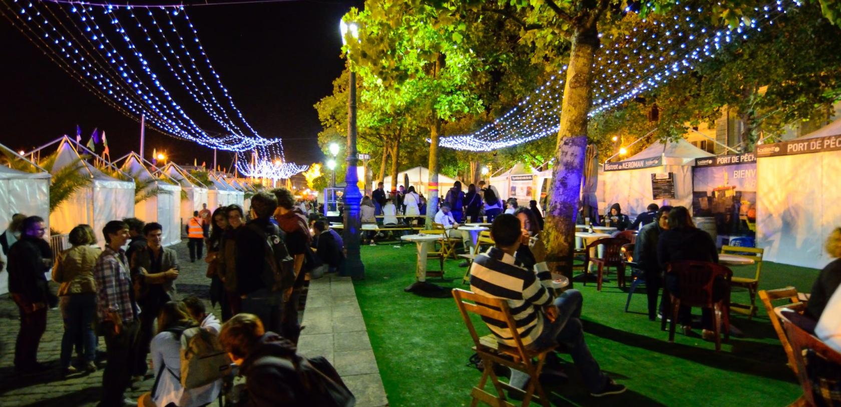 Lorient, soirée au Festival Interceltique