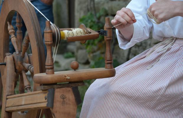 Poul Fetan, filage de la laine