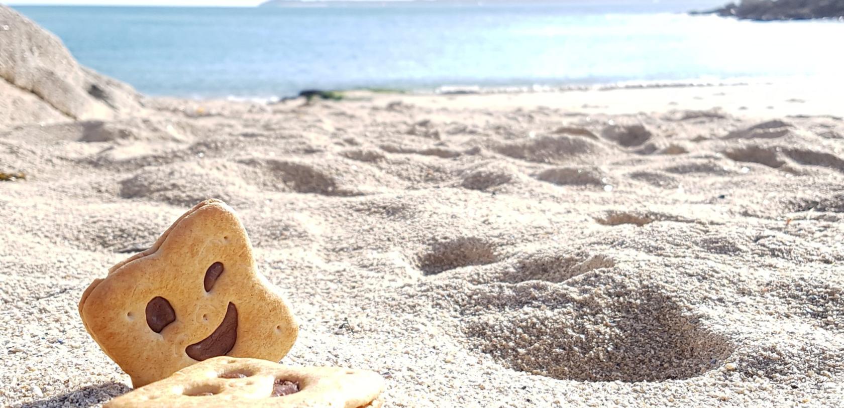 Lorient, goûter sur la plage