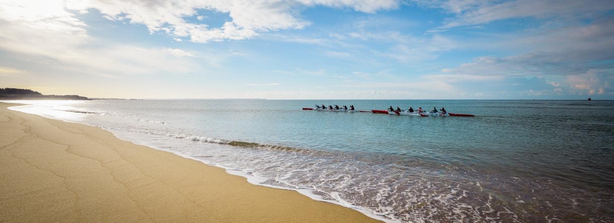 kayak de mer guidel plages