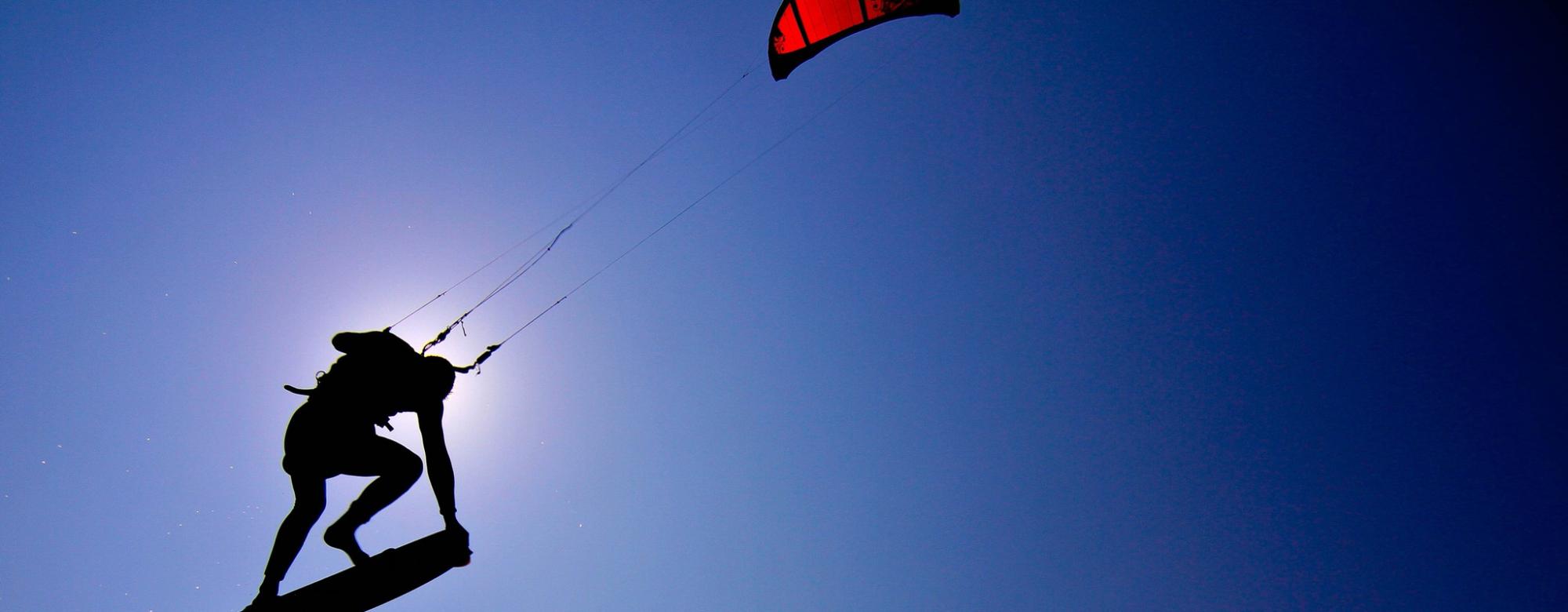 Kitesurf à Lorient