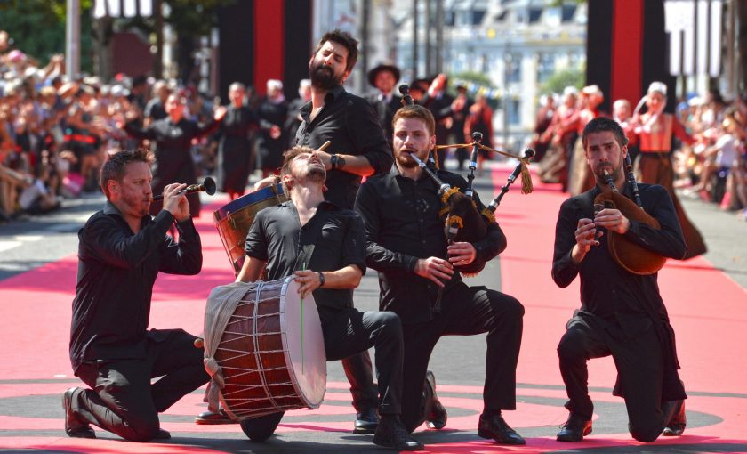 Festival Interceltique de Lorient, la Grande Parade