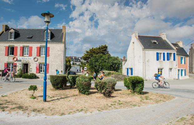 Café Le bateau Ivre à Locmaria, Ile de Groix.