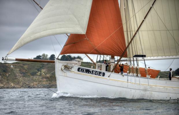 ©Ronan GLADU. Le Biche, bateau, ile de Groix