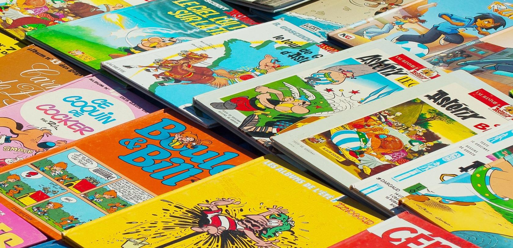 Livres bandes dessinées enfants