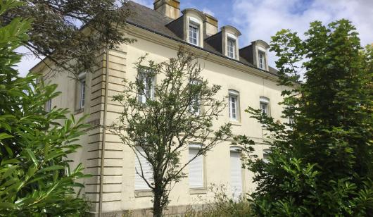 La Maison de l'Imprimeur dans l'Enclos du Port à Lorient.