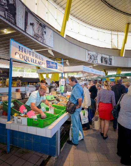 Lorient, marché de Merville