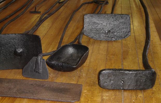 Inzinzac-Lochrist, outils des fours