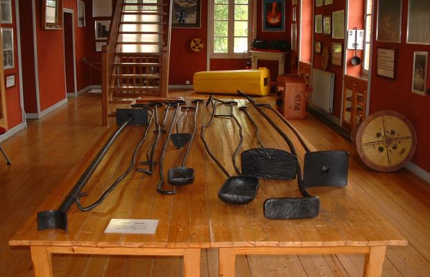 Outils fonderie des Forges à l'Ecomusée Industriel des Forges
