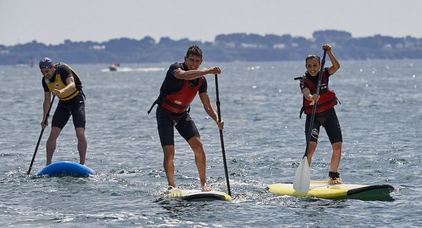 Stand Up Paddle au Kerguelen Sports Ocean