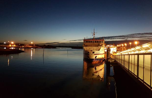 Gare maritime de Lorient Bretagne Sud, le bateau de Groix.