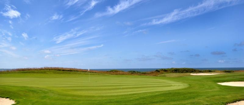 Terrain de golf face à la mer, Ploemeur