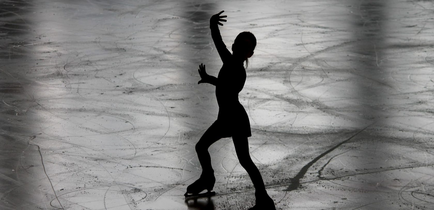 Figure skating patinoire