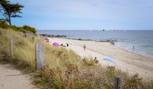 Larmor plage, la plage de Kerguelen