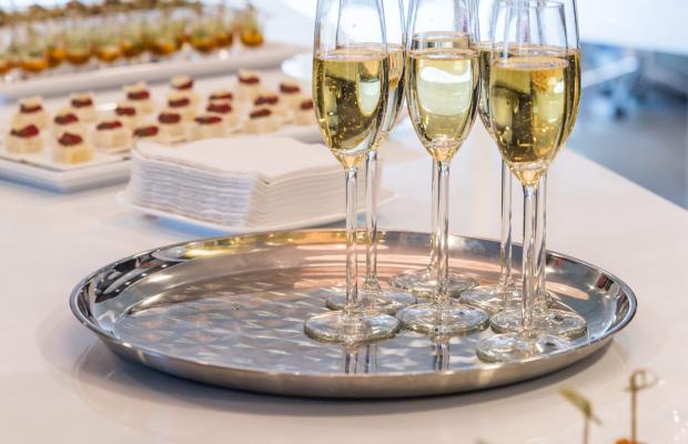 Plateau de coupe de champagne