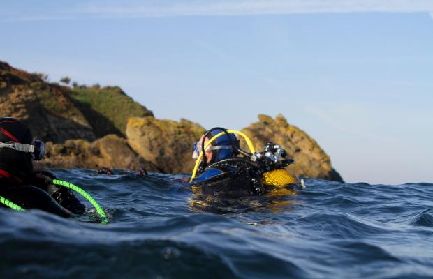 Plongée à l'île de Groix au départ de Kerguelen Sports Océan