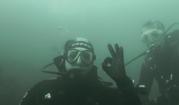 Plongeurs à Ile de Groix avec le Centre Nautique de Kerguelen