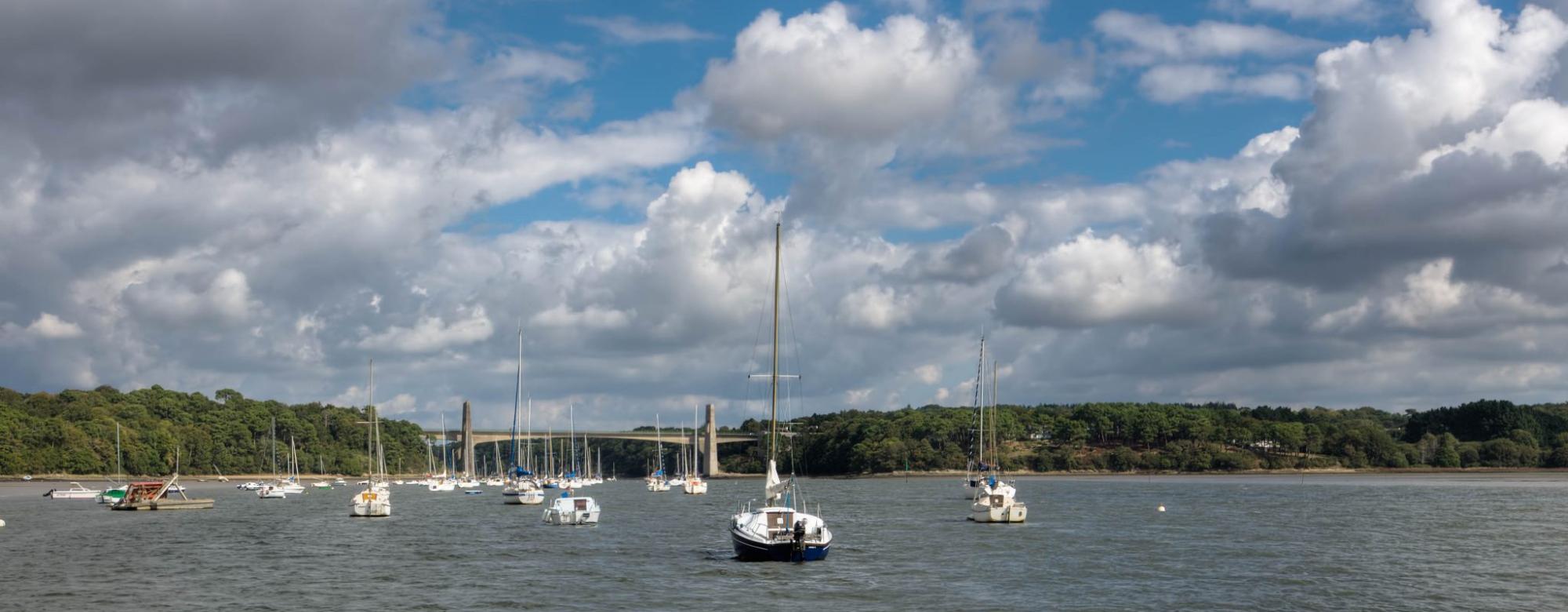 Le pont du bonhomme,le Blavet, Lanester