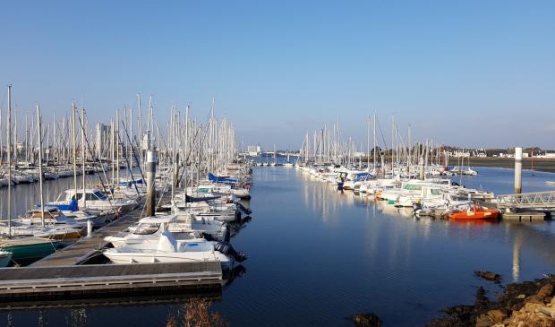 Port de plaisance de Sainte-Catherine à Locmiquélic.