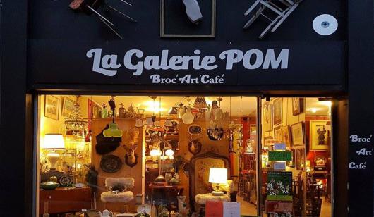 La galerie Pom à Lorient.