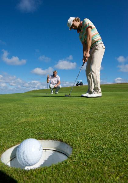 Coup réussi au golf de Ploemeur