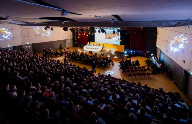 Salle de conférence du palais des Congrès de Lorient