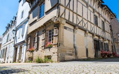Les vieilles maisons d'Hennebont