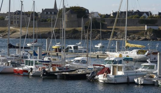 Port de plaisance de Gâvres.