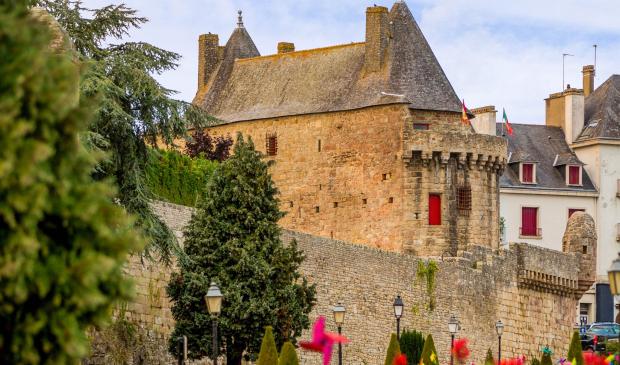 Les Tours Broerech sur les remparts d'Hennebont