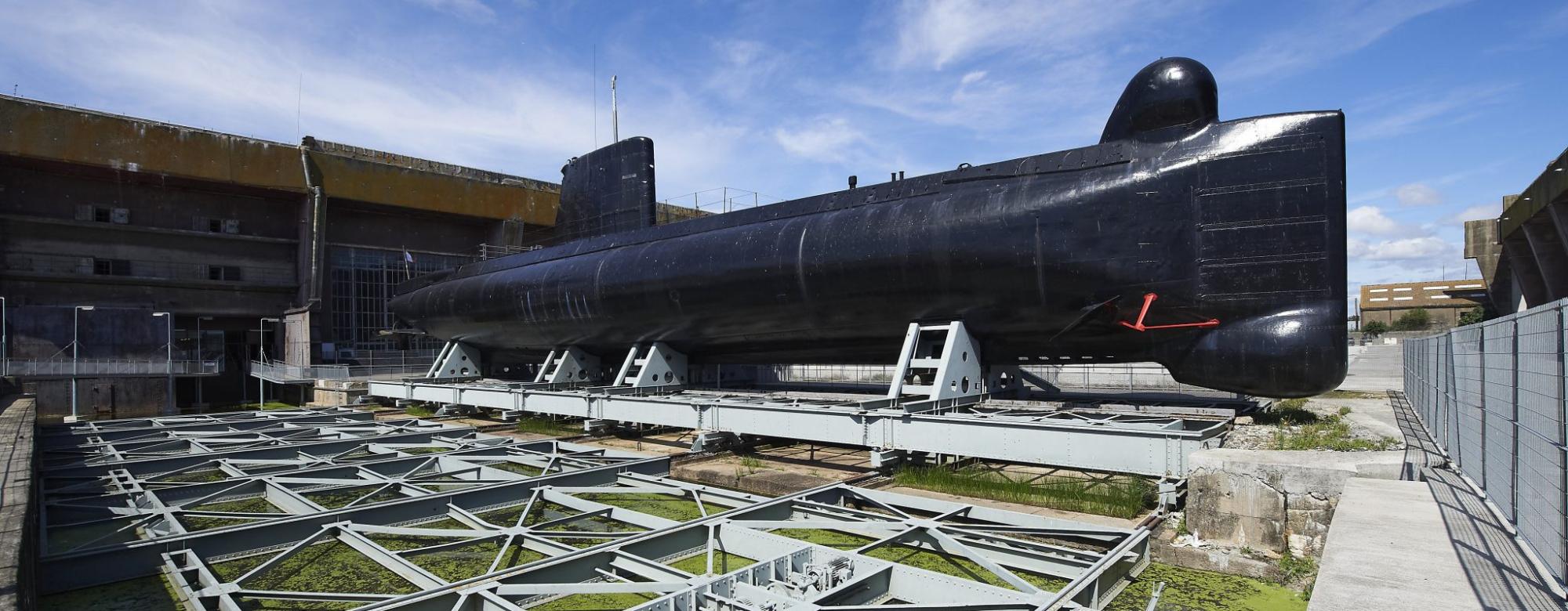 Lorient, sous-marin Flore