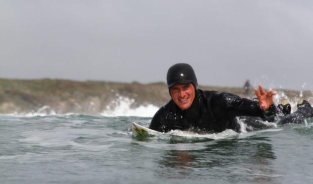 Surf en hiver, Guidel