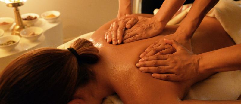 Massage à la Thalassothérapie à Carnac
