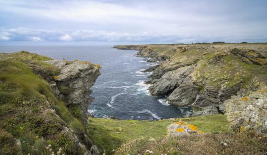 Le trou de l'enfer à l'île de Groix