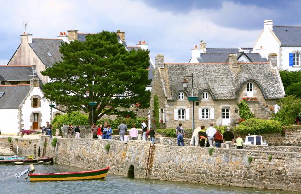 Village de Saint-Cado à Belz, Ria d'Etel.