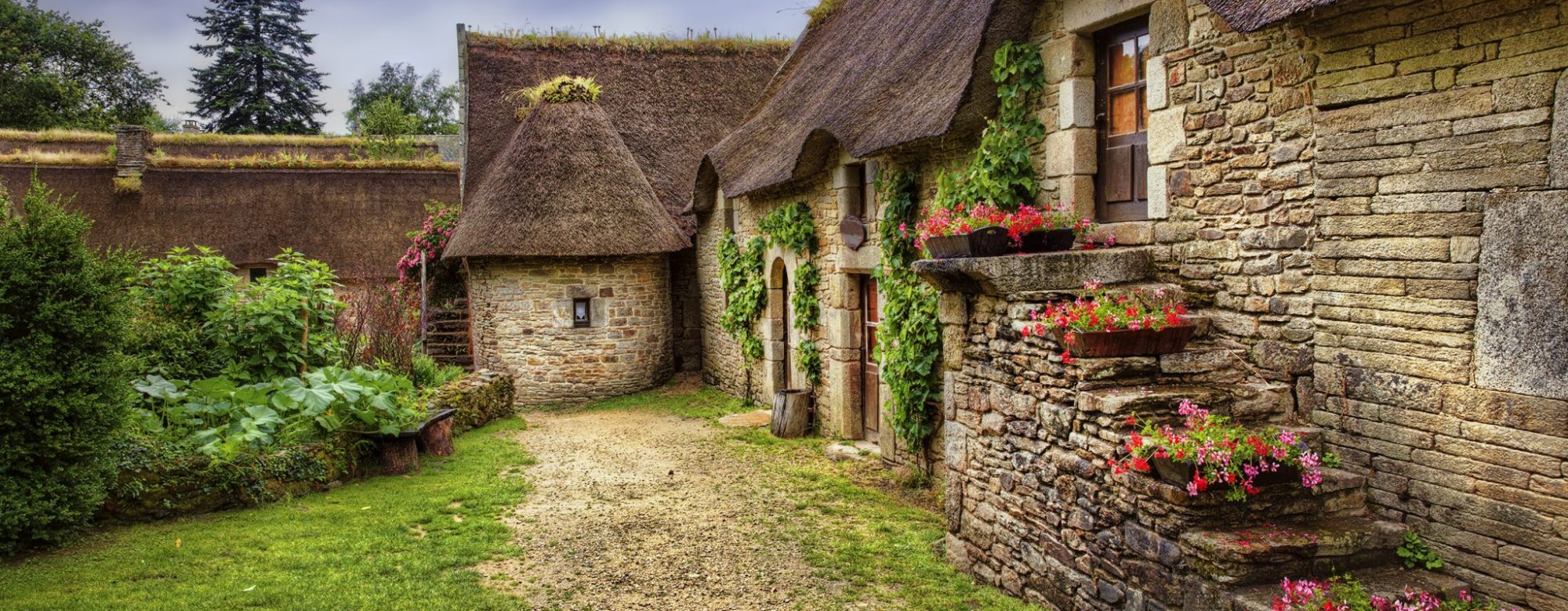 Habitation du village de Poul Fetan, Quistinic