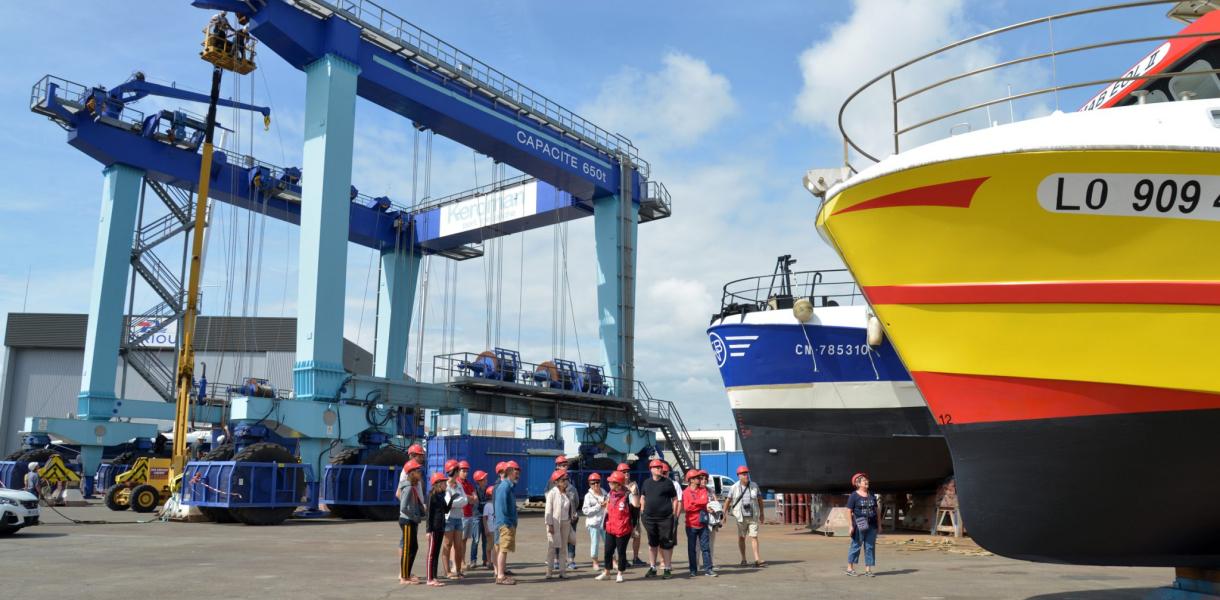 Lorient, visite du port de Keroman