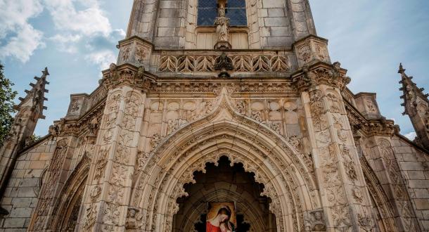 Lorient, église-notre-dame-de-bonne-nouvelle à Kerentrech.